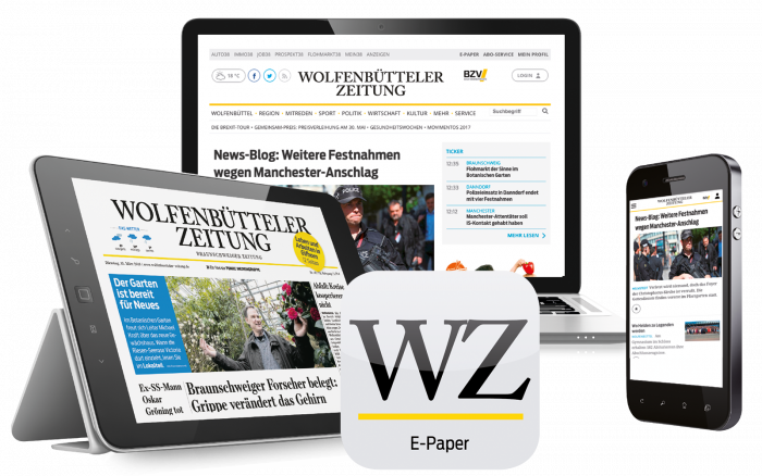 Das Digital-Paket der Wolfebbütteler Zeitung.