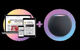 Digital lesen und 2-fach profitieren: Apple HomePod mini geschenkt