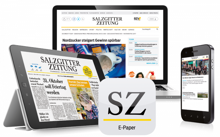 Das Digital-Paket der Salzgitter Zeitung.