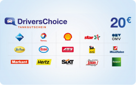 Drivers Choice 20,00 Euro